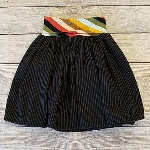 Persnickety Sz 7 years pin striped skirt